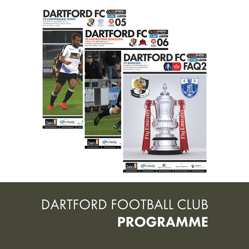 Dartford FC Programme