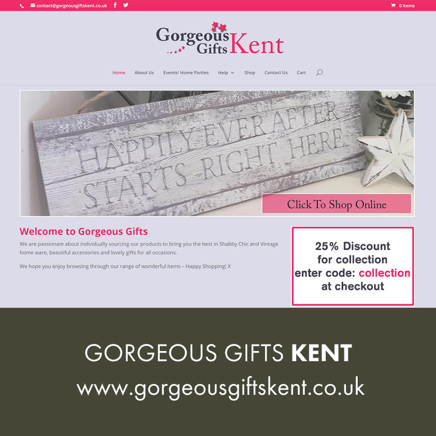 Gorgeous Gifts Kent