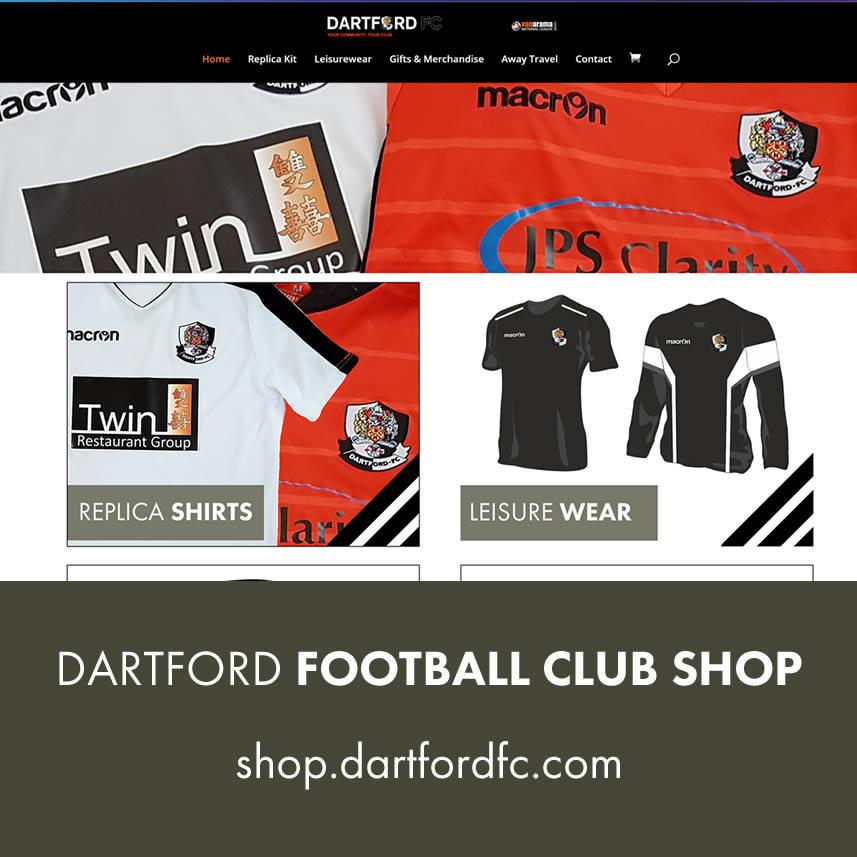 Dartford FC Onilne Shop