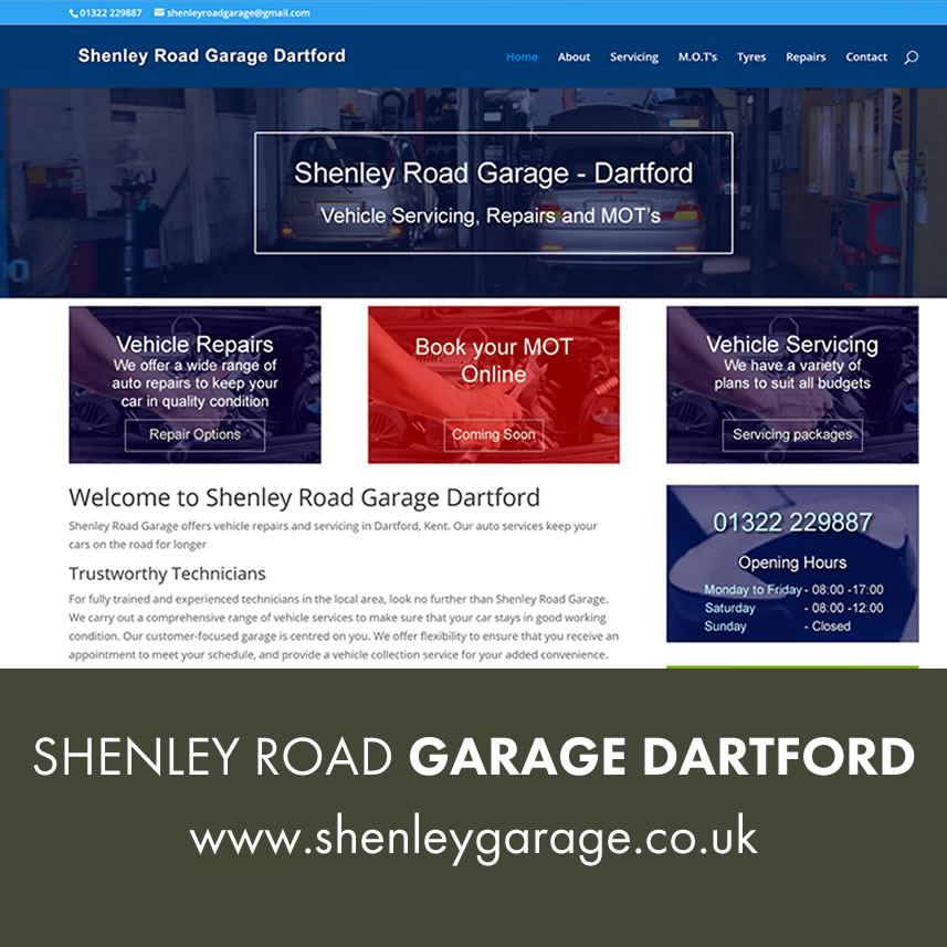 Shenley Road Garage